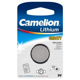 Camelion - Camelion CR2477 3V Lithium button cell battery - Button cells - BS030-CB
