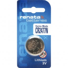 Renata - Renata CR2477N 3V Lithium button cell battery - Button cells - NK220-CB