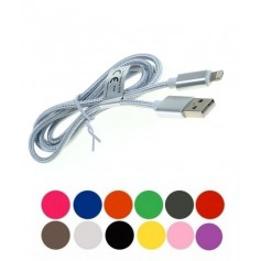 OTB - 2-in-1 data cable iPhone / Micro-USB - Nylon sheath 1M - Other data cables  - ON5064-CB