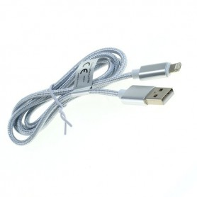 OTB - 2-in-1 data cable iPhone / Micro-USB - Nylon sheath 1M - Other data cables  - ON5064-CB www.NedRo.us