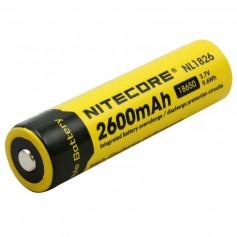 NITECORE - Nitecore 18650 li-ion NL1826 2600mAh 3.7V - Size 18650 - BS039-CB