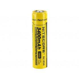 NITECORE - Nitecore 18650 li-ion NL1834 3400mAh 3.7V - Size 18650 - BS040-CB