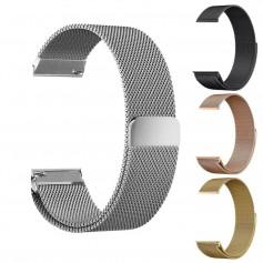 Metal bracelet for Fitbit Blaze frame magnetic closure