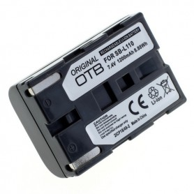 OTB, Battery for Samsung SB-L110 1200mAh Li-Ion, Samsung photo-video batteries, ON2844, EtronixCenter.com