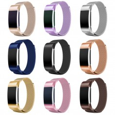 Metal bracelet for Fitbit Charge 2 magnetic closure