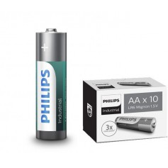 PHILIPS - AA R3 Philips Industrial Power Alkaline - Size AA - BS045-CB