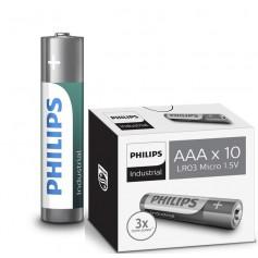 AAA R3 Philips Industrial Power Alkaline