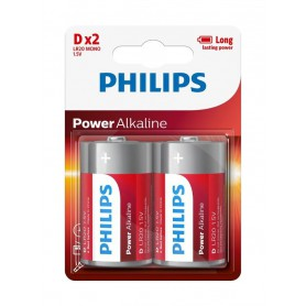 PHILIPS - Philips Power D/LR20 Alkaline - Size C D 4.5V XL - BS048-CB www.NedRo.us
