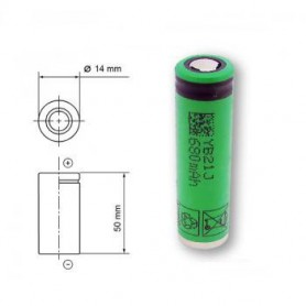 Sony, Sony US14500VR2 680mAh 3.7V 14x49mm rechargeable battery, Other formats, NK222-CB, EtronixCenter.com
