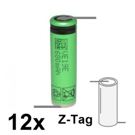 Sony - Sony / Murata US14500VR2 680mAh - 2A 3.7V 14x49mm rechargeable battery - Other formats - NK222-CB