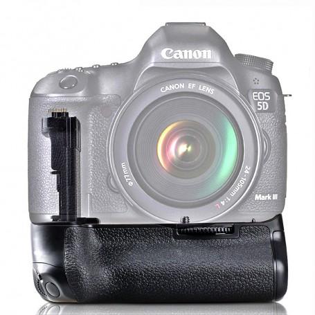 Travor - Battery Grip compatible with Canon 5D Mark III 5D3 5DS 5DSR BG-E11 - Canon photo-video batteries - AL195