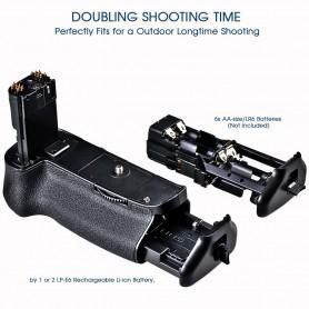 Travor, Battery Grip compatible with Canon 5D Mark III 5D3 5DS 5DSR BG-E11, Canon photo-video batteries, AL195, EtronixCenter...