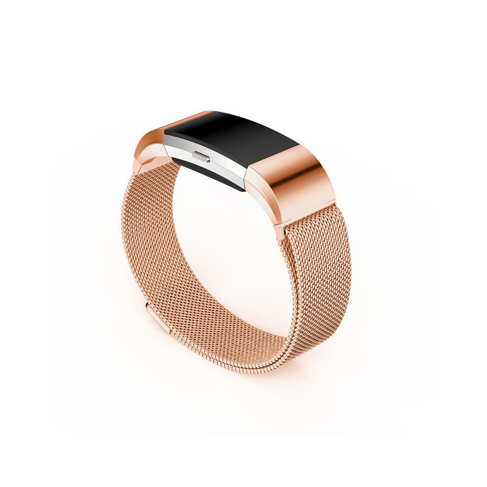 Metal bracelet for Fitbit Charge 2 magnetic closure for