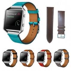Trendy Eco Leather Bracelet for Fitbit Blaze