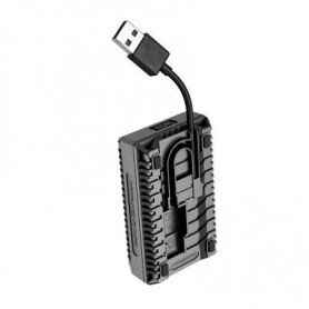 NITECORE - Nitecore USN1 double USB charger for Sony NP-FW50 - Sony photo-video chargers - BS054 www.NedRo.us