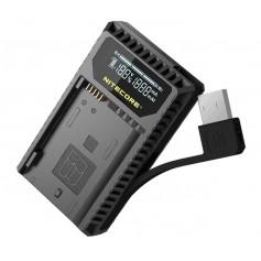 NITECORE - Nitecore UNK1 USB charger for Nikon EN-EL14 EN-EL14a EN-EL15 - Nikon photo-video chargers - BS056