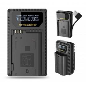 NITECORE, Nitecore UNK1 USB charger for Nikon EN-EL14 EN-EL14a EN-EL15, Nikon photo-video chargers, BS056, EtronixCenter.com