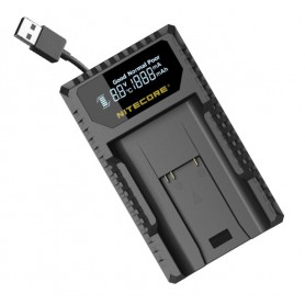 NITECORE - Nitecore ULM9 USB charger for Leica BLI-312 - Other photo-video chargers - MF010