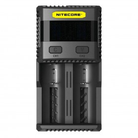 NITECORE, Nitecore Supercharger SC2 EU for Li-ion, NiMH, Ni-Cd, Battery chargers, BS062
