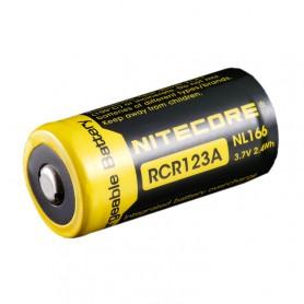 NITECORE - Nitecore RCR123A Li-ion NL166 650mAh 3.7V - Other formats - MF001-CB www.NedRo.us