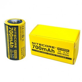 NITECORE, Nitecore IMR18350 Li-ion 700mAh 3.7V 7A NI18350A, Other formats, BS065-CB