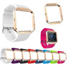 TPU Silicone bracelet for Fitbit Blaze including metal housing