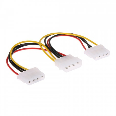 NedRo - Molex Power Splitter 2-way splitter - Molex and Sata Cables - AL207 www.NedRo.us