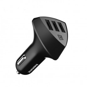 Remax - REMAX Aliens Triple USB QC 4.2A Premium car charger - Auto charger - H008
