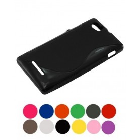 OTB, TPU Case for Sony Xperia M, Sony phone cases, ON978-CB, EtronixCenter.com