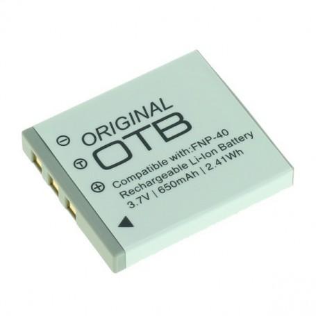 OTB - Battery for Fuji NP-40 / Pentax D-LI85 / Samsung SLB-0737/0837 Li-Ion - Fujifilm photo-video batteries - ON1400