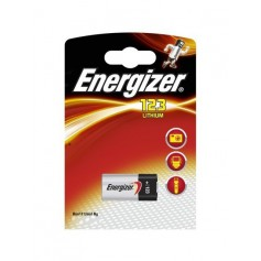 Energizer CR123 3V lithium battery