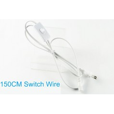 Oem - 150cm power cable with ON / OFF switch for NedRo LED tubes - LED connectors - AL222