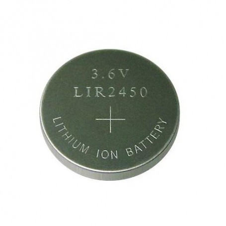 BSE - BSE LIR2450 3.6V 120mAh rechargeable Li-ion button cell battery - Button cells - BS110-CB