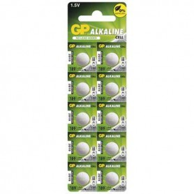 GP - GP G10 / LR54 / 189 / AG10 Alkaline button cell battery - Button cells - BS113-CB