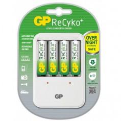 GP Recyko + PB420 AA / AAA battery charger + 4x AA 2100mAh batteries