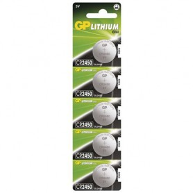 GP - GP CR2450, DL2450, ECR2450 3V Lithium button cell battery - Button cells - BS121-CB