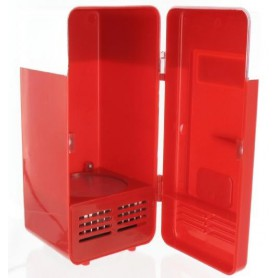NedRo, USB Mini fridge Red, Computer gadgets, YPU801, EtronixCenter.com