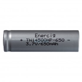 Enercig, Rechargeable battery Enercig 14500 650mAh - 13A Li-ion, Other formats, NK371-CB, EtronixCenter.com