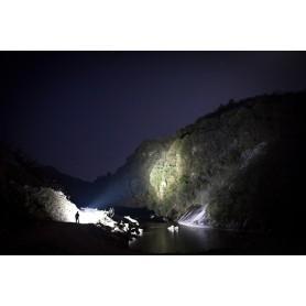 OLIGHT, Olight X9R Marauder 6x CREE XHP70.2 LEDs 25000 Lumens Rechargeable Search Light with 6000mAh 14.4V Li-Ion Battery Pac...