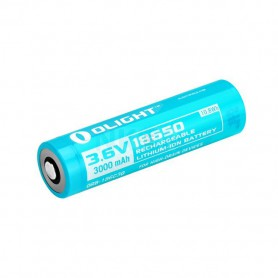 OLIGHT, Olight 3000mAh 3.6V 18650 Rechargeable Li-ion Battery, Size 18650, NK373-CB, EtronixCenter.com