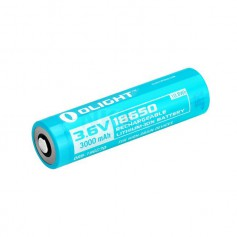 OLIGHT, Olight 3000mAh 3.6V 18650 Rechargeable Li-ion Battery, Size 18650, NK373-CB