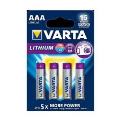 Varta - VARTA ULTRA LITHIUM LR03 / AAA / R03 / MN 2400 1.5V battery - Size AAA - BS137-CB