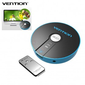 Vention - 4K 3D 1080P 3 In 1 Out HDMI Switch With Remote Control - HDMI adapters - V043 www.NedRo.us