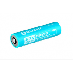 OLIGHT - Olight 2600mAh 3.6V 18650 Rechargeable Li-ion Battery for R20 - Size 18650 - NK377-CB