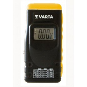 Varta, VARTA Digital AA / AAA / C / D / 9V Single use and Rechargeable Battery Tester, Battery accessories, BS139