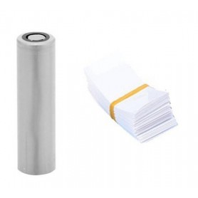 NedRo, 50 Pieces 72/30mm 18650 Battery PVC Heat Shrink Tubing Tube Wrap, Battery accessories, NK382-CB