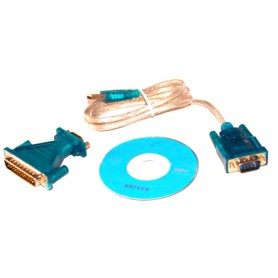 NedRo, USB to RS232 Com Port 9 PIN Serial DB25 DB9 Adapter Cable Converter, RS 232 RS232 adapters, AL225, EtronixCenter.com