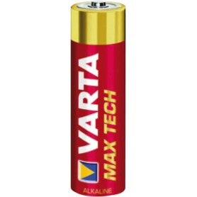 Varta - VARTA Max Tech LR03 / AAA / R03 / MN 2400 1.5V alkaline battery - Size AAA - BS156-CB www.NedRo.us