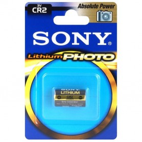 Sony, SONY PHOTO Absolute Power CR2 / DLCR2 / EL1CR2 / CR15H270 3V Lithium battery, Other formats, BL271-CB