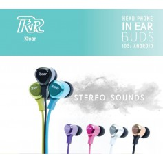 ROAR - ROAR iPhone / iPad Stereo Earphone 3.5mm Jack - Headsets and accessories - AL1104-CB